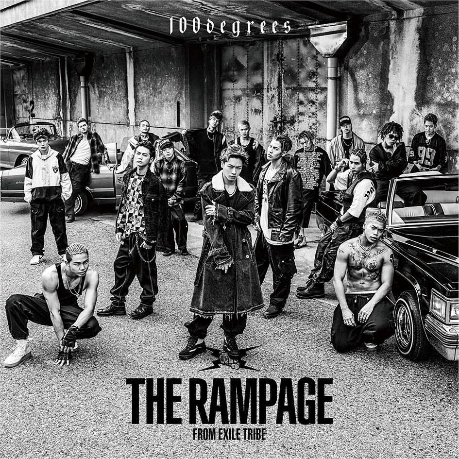 THE RAMPAGE from EXILE TRIBE「100degrees」CDのみ
