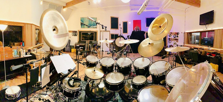 サイモン・フィリップスのドラムセット