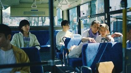 ハナレグミ、盟友・池田貴史作曲&プロデュース、夏帆出演の「発光帯」MV公開