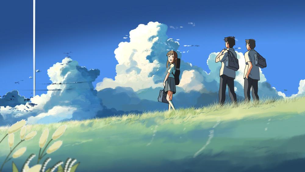 『雲のむこう、約束の場所』 (C) Makoto Shinkai / CoMix Wave Films