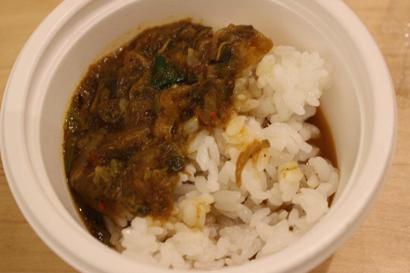 Asian kitchen cafe 百福「コラーゲン尽くし!あんこう出汁のフカヒレカレー」