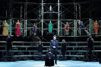 藤田俊太郎、城田優、咲妃みゆらコメントが到着 ミュージカル『NINE』ライブ配信&DVD発売も決定