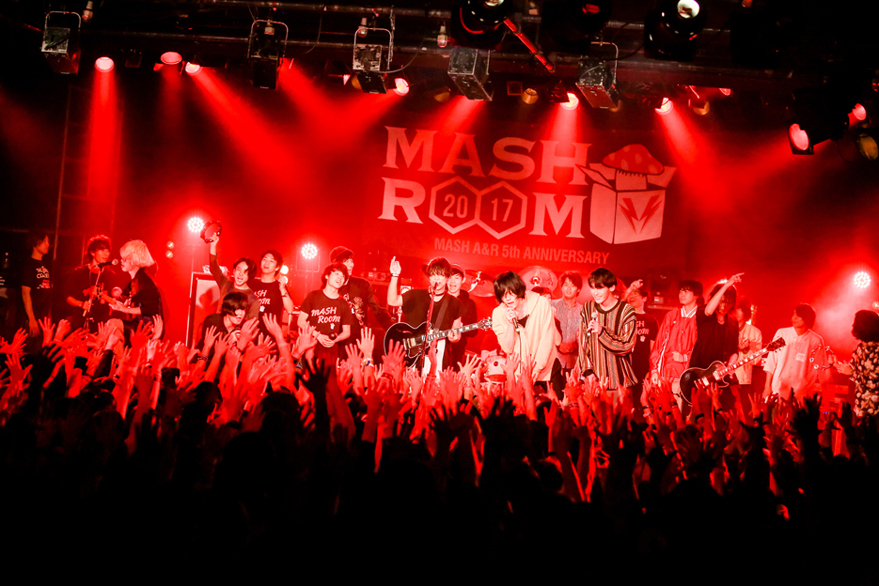 MASH A&R 5th ANNIVERSARY MASHROOM 2017