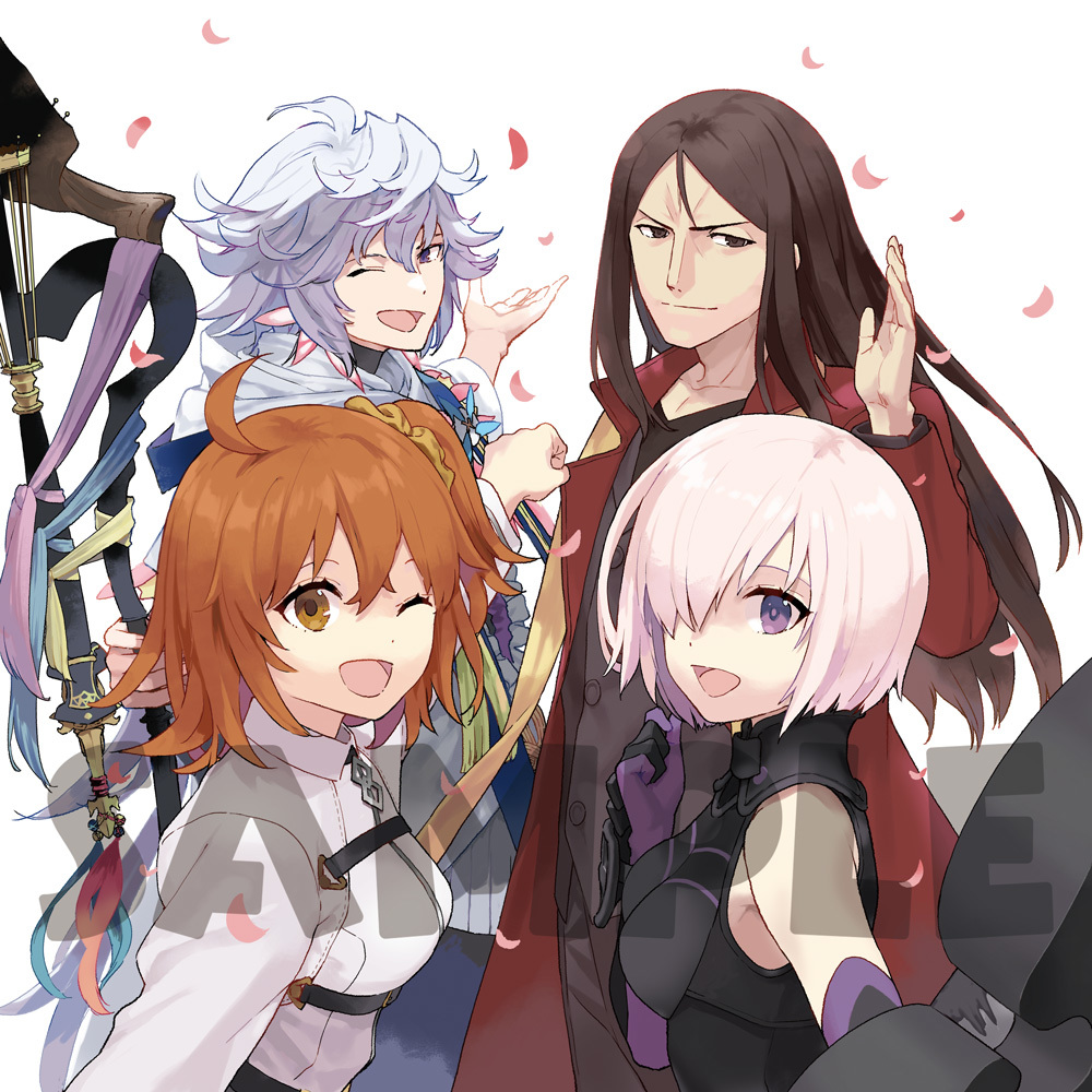 「Fate_Grand Carnival」店舗共通連動購入特典武梨えり描き下ろしクッションカバー_絵柄オモテ面 (c)TYPE-MOON / FGC PROJECT