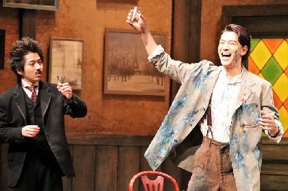 舞台『ピカソとアインシュタイン』開幕! 川平慈英、同役の村井良大の演技を「相当パクってます!」と笑顔