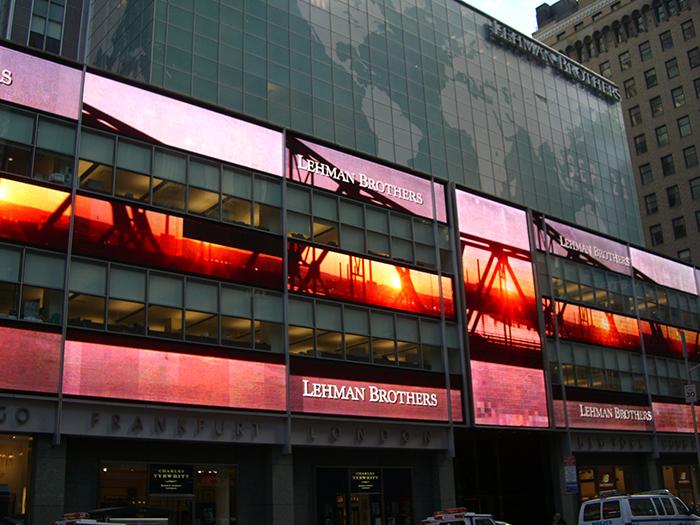 リーマン・ブラザース社(NY 2008年9月)