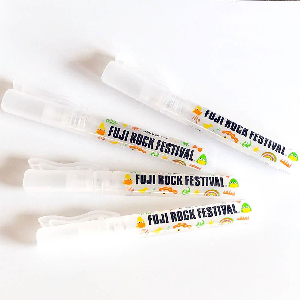 FUJI ROCK FESTIVAL オリジナル除菌スプレー