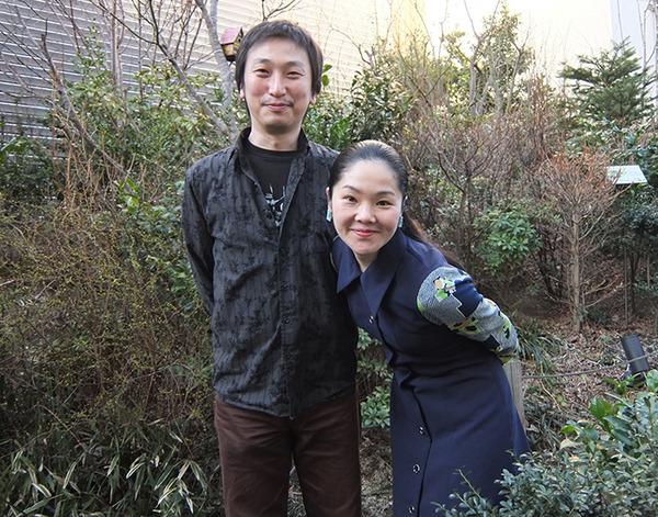 (左から)糸井幸之介・深井順子