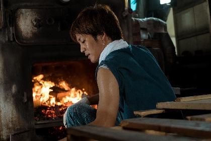オダギリジョーと松坂桃李が汗を滴らせ湯を沸かす 映画『湯を沸かすほどの熱い愛』メイキング映像
