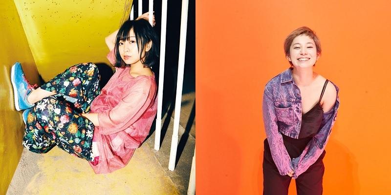 歌川菜穂(赤い公園)、Yuumi(DE BESO)