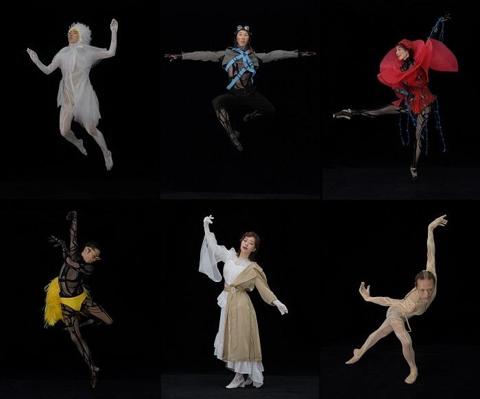 『星の王子さま -サン=テグジュペリからの手紙-』ダンサー扮装ビジュアル