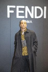 関口メンディー『フェンディ 2019-20年秋冬メンズコレクション』会場でセレブリティと交流
