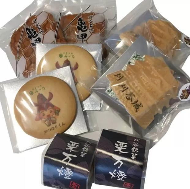 『大物産展』では、刈谷市観光案内所「刈谷の銘菓詰め合わせ」などが販売される