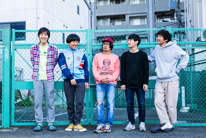 左から坂本慶介、本多力、中山祐一朗、森一生、土佐和成