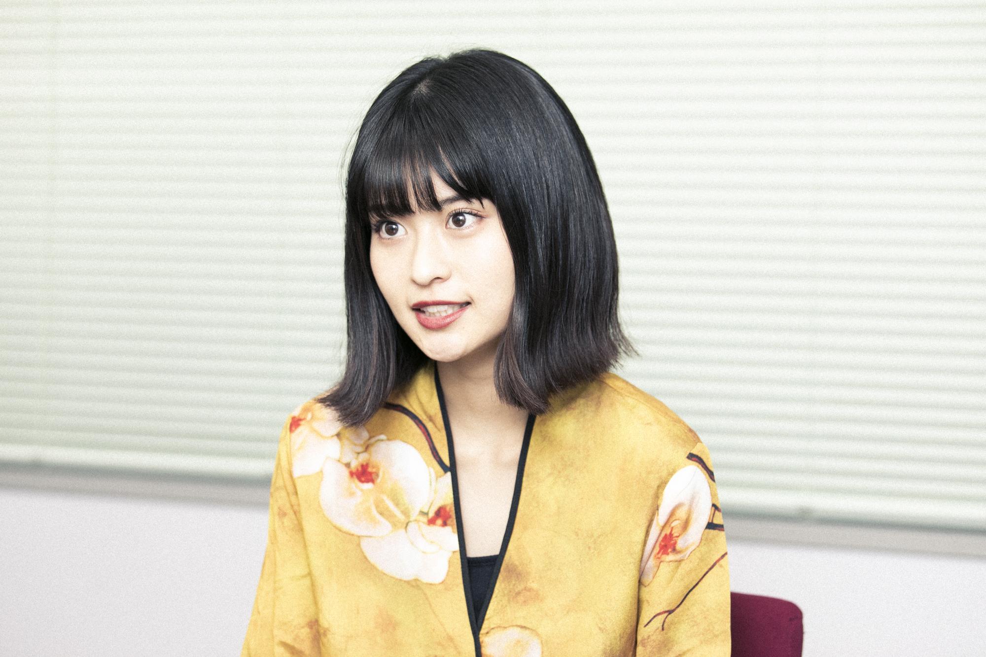 横田ひかる 撮影=森好弘