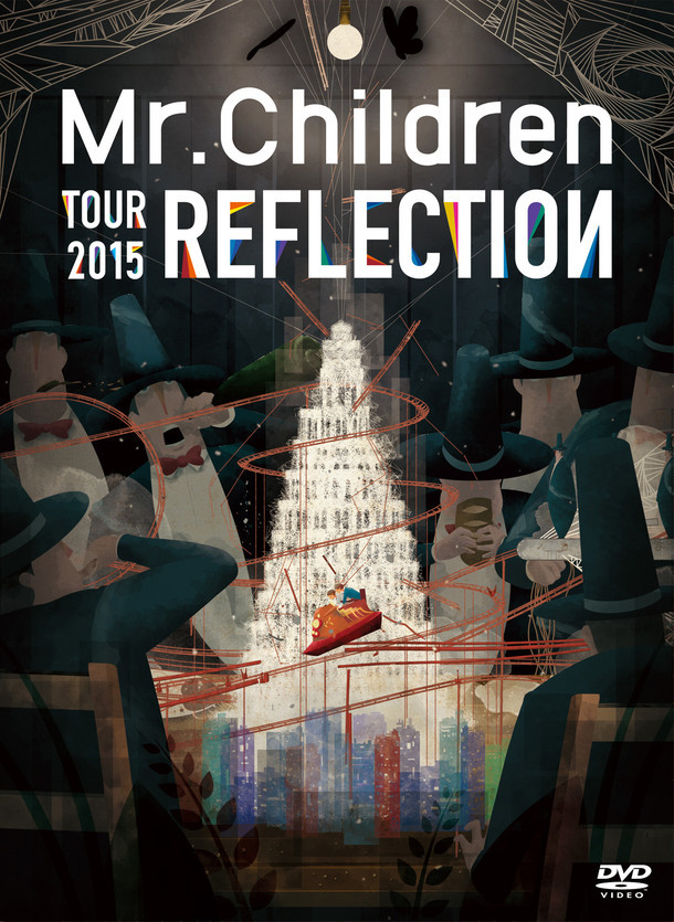 「LIVE『Mr.Children TOUR 2015 REFLECTION』」ジャケット