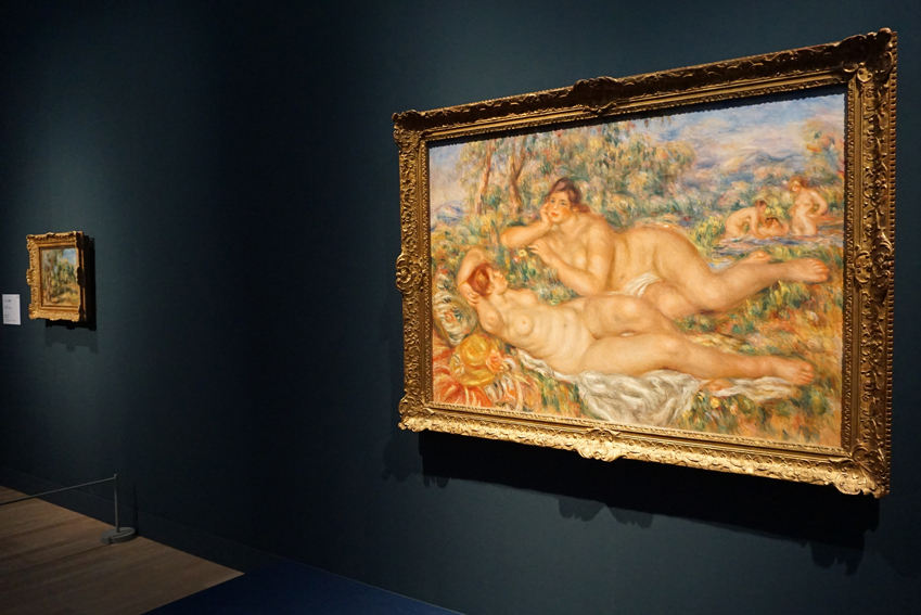 《浴女たち》 1918-1919年、油彩/カンヴァス オルセー美術館