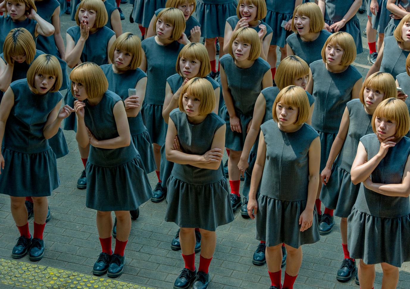 高倉大輔(日本、1983)《monodramatic / crowd》(C)Daisuke Takakura