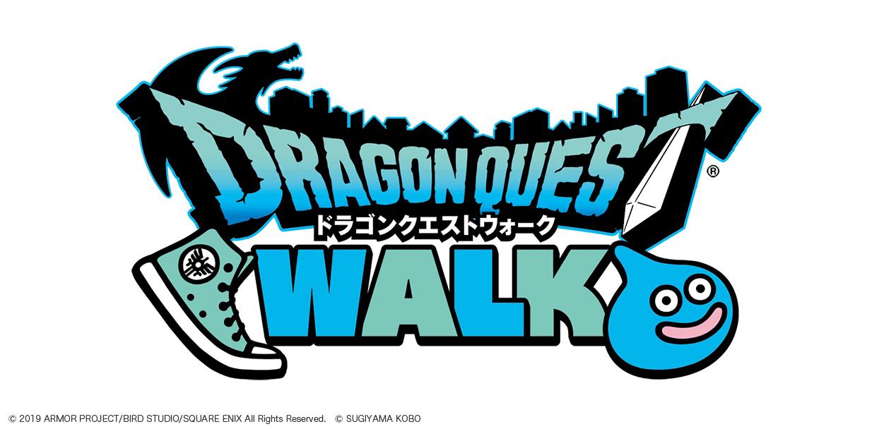 位置情報RPG『ドラゴンクエストウォーク』ロゴ (C)2019 ARMOR PROJECT/BIRD STUDIO/SQUARE ENIX All Rights Reserved.(C)SUGIYAMA KOBO