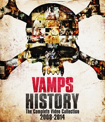VAMPS『HISTORY-The Complete Video Collection2008-2014』DVD