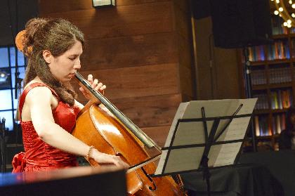 音楽に誘われイマジネーションの世界に遊ぶ~チェロ奏者・ピーティ田代櫻が奏でる情感豊かな世界