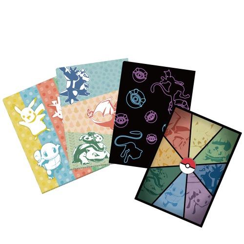 謎付きクリアファイル/各800円(税込)全3種、4種セット3,200円(税込)