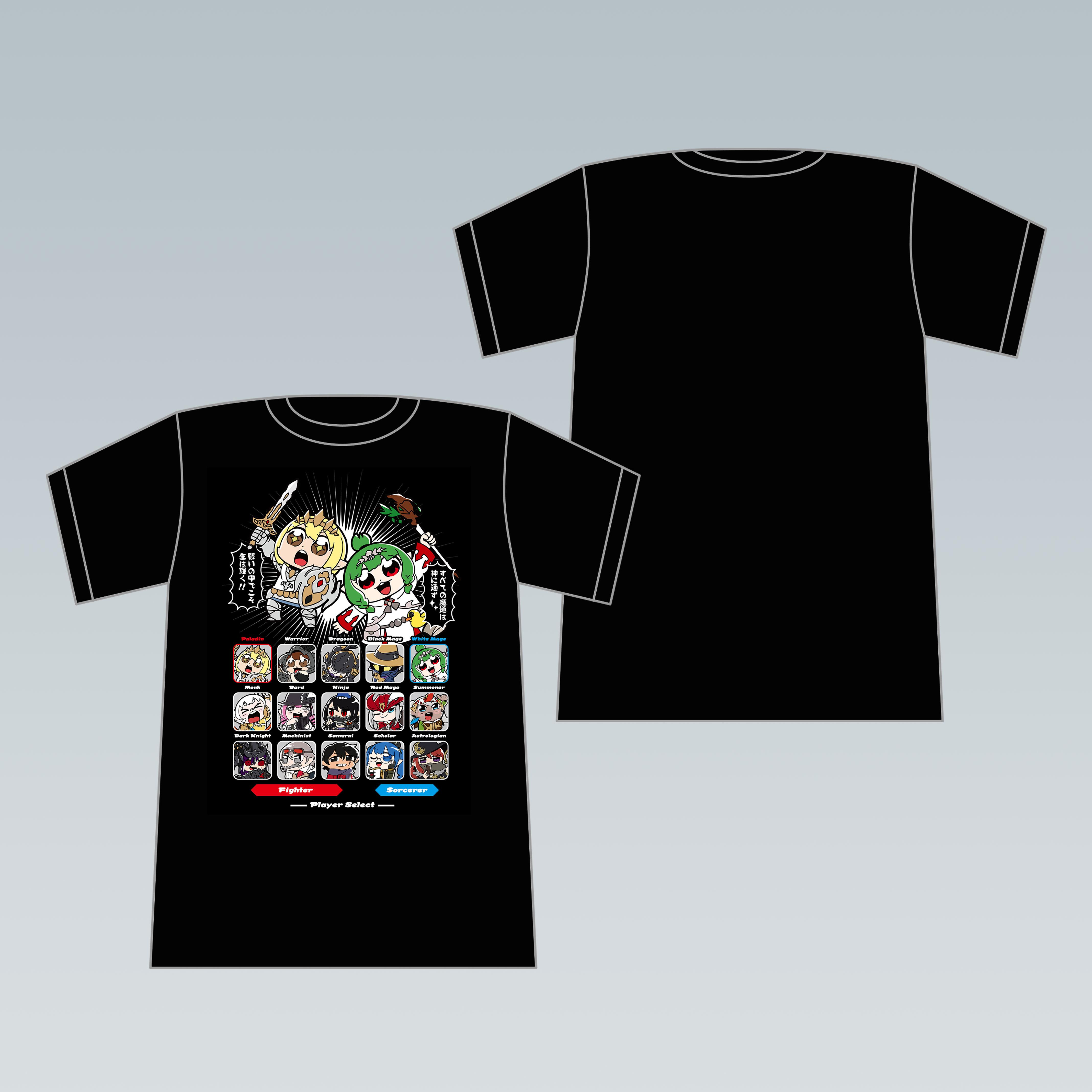 ララフェルコレクション T シャツ