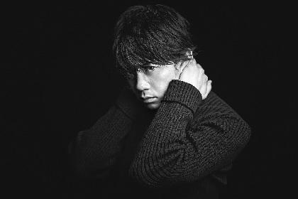 青柳翔、雪の情景をイメージした新シングル「Snow!」のアートワークを公開