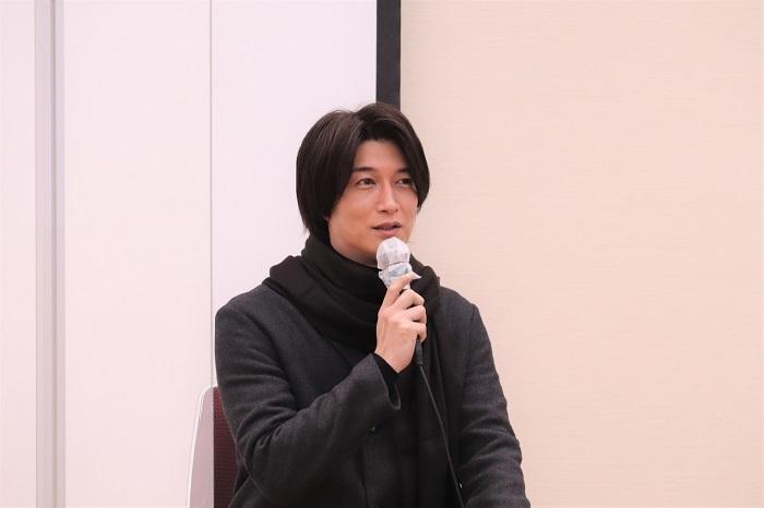 舞台『蟻地獄』製作発表記者会見 天野浩成