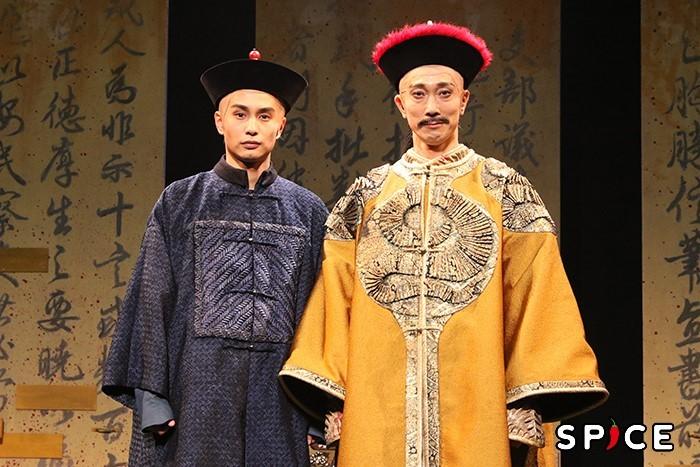 (左から)中村蒼、佐々木蔵之介
