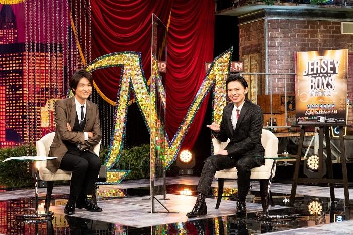 (左から)井上芳雄、中川晃教