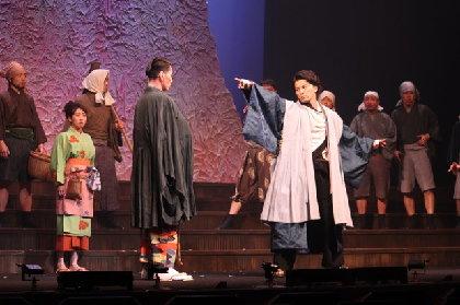 内博貴、ラップ自己採点は「2点」?! KREVAの音楽劇『最高はひとつじゃない 2016SAKURA』開幕
