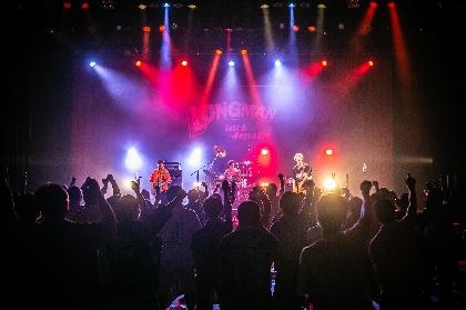 LONGMAN、地元・愛媛で凱旋ライブを開催 ドラマ『ゆるキャン△2』主題歌など全20曲を披露