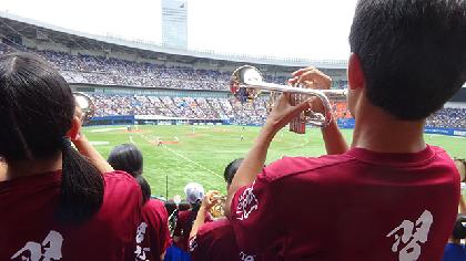 6月14日は『ALL for CHIBAデー』! 習志野高校吹奏楽部がマリーンズを応援