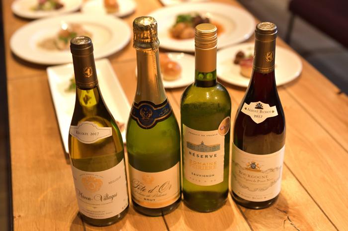 ※ワインはイメージです。まだセレクト中です、当日のお楽しみに。