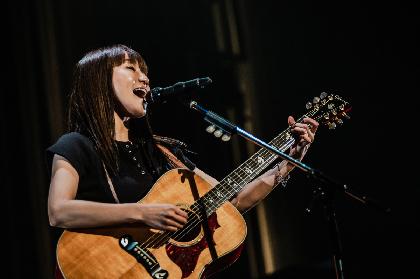 矢井田 瞳、約4年振りとなる弾き語りライブ『Guitar to Uta』を一夜限りで開催
