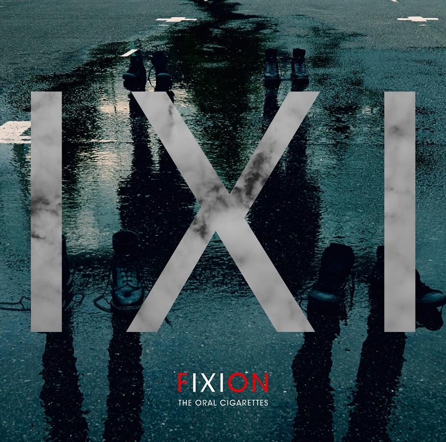 『FIXION』通常盤ジャケット