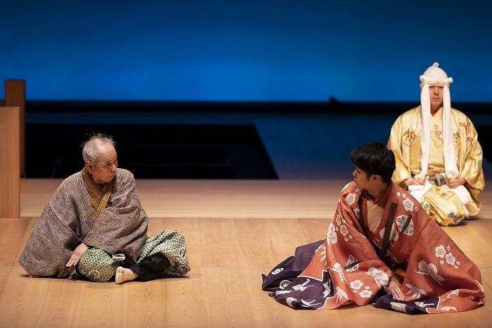 狂言劇場 その九 『舟渡聟』撮影:政川慎治