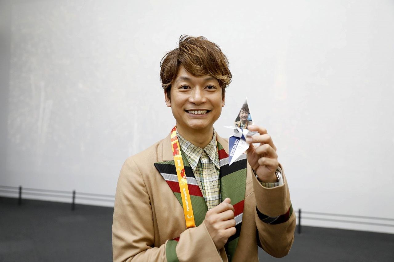 香取慎吾 Tokyo 2020