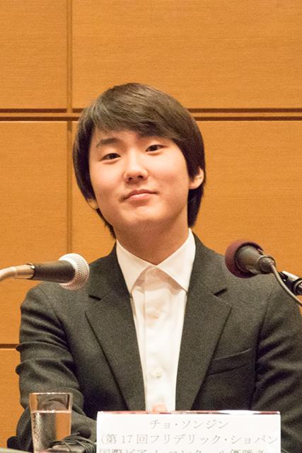 チョ・ソンジン (Photo:M.Otsuka/TokyoMDE)