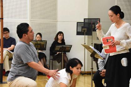 河瀨直美の初演出で名作オペラ『トスカ』を上演!稽古場レポート&囲みインタビュー