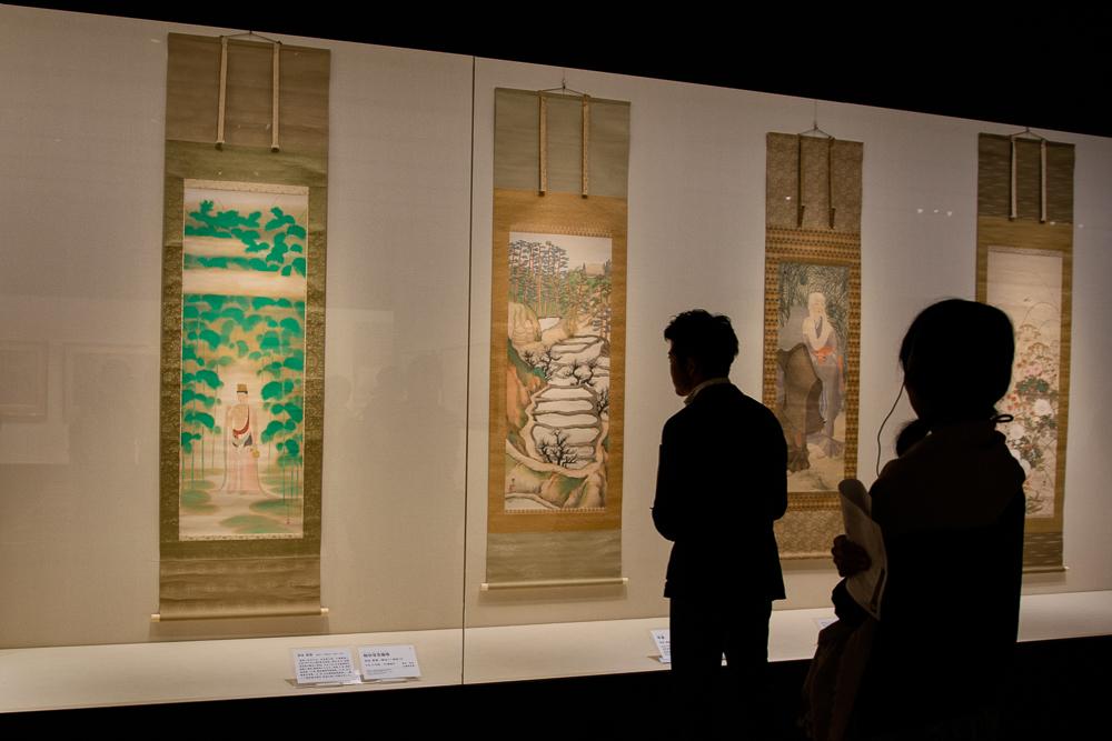 山種美術館『日本画の挑戦者たち』展示風景