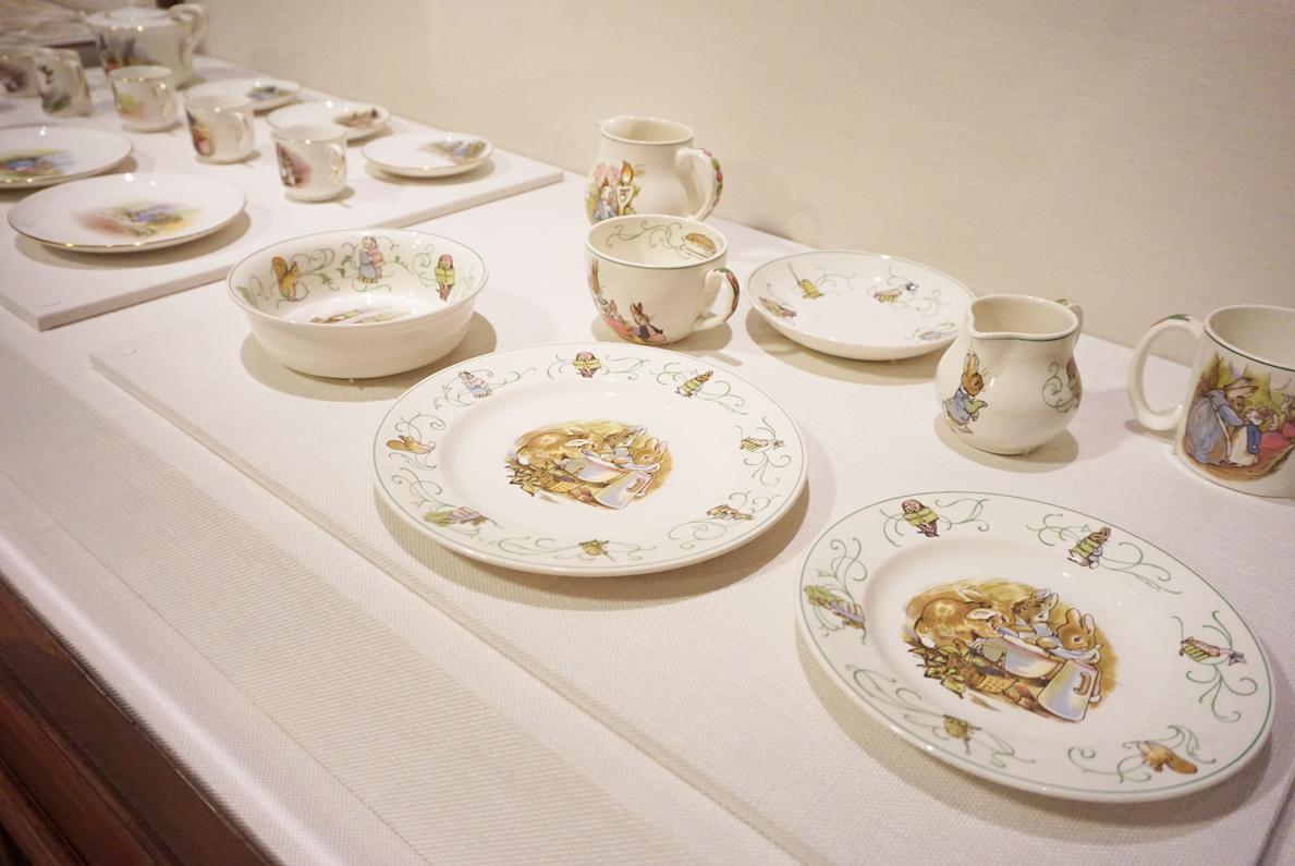 ピーターラビット:ナーサリー・ウェア・コレクション 1947年/陶器 英国ナショナル・トラスト所蔵