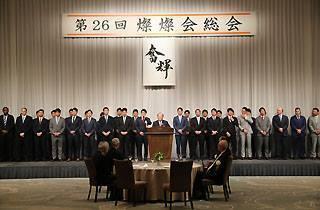 燦燦会で高橋由伸監督が開幕戦の先発メンバーを発表した
