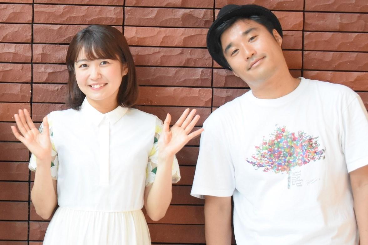 (左から)惣田紗莉渚(SKE48)、加賀成一