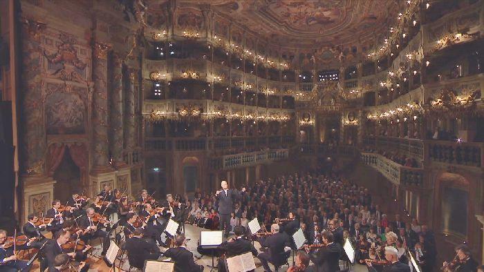 世界遺産のバイロイト辺境伯歌劇場で開催された『ヨーロッパ・コンサート』