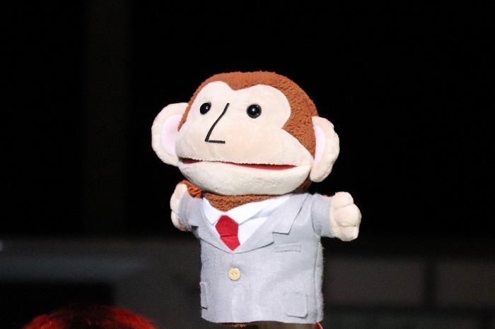 【おまけ】劇中に登場するこのパペットがキュート!