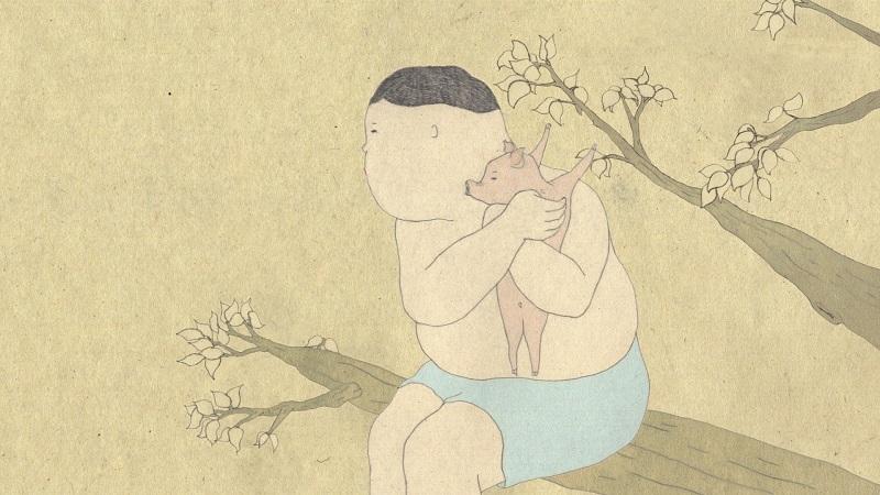 和田淳《わからないブタ》2010年(参考作品)