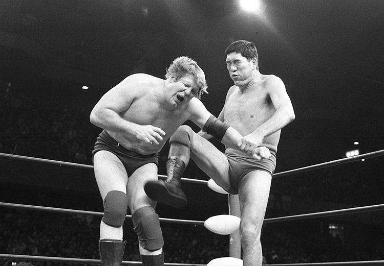 1982年2月4日に行われたジャイアント馬場 vs スタン・ハンセン戦