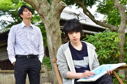 『HiGH&LOW』『仮面ライダー剣』の天野浩成、39歳にしてBL初挑戦へ 映画『花は咲くか』で18歳年下の渡邉 剣と純愛演じる